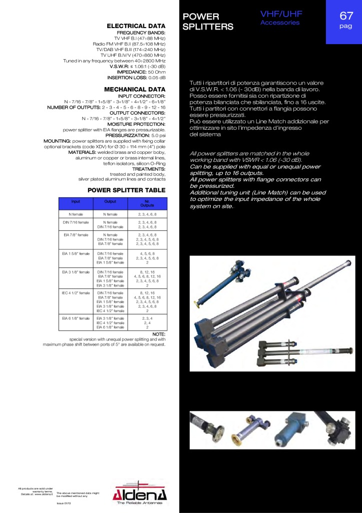 thumbnail of power-divider-vhf-uhf-accessories_aldena